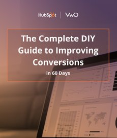 cover image of ebook on DIY guide to improving conversions