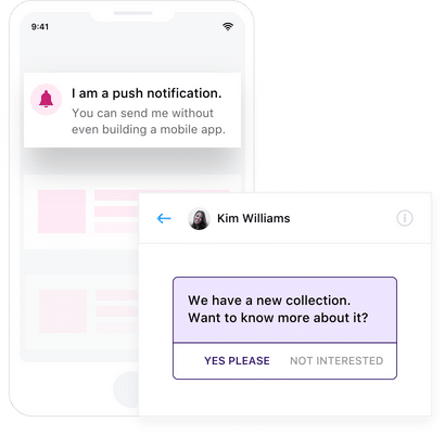 Using Push Notifications to Engage Visitors
