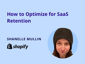 webinar on how to optimize for SaaS retention
