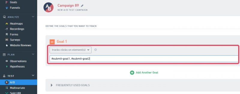 How to Track Clicks on Element - Knowledge Base