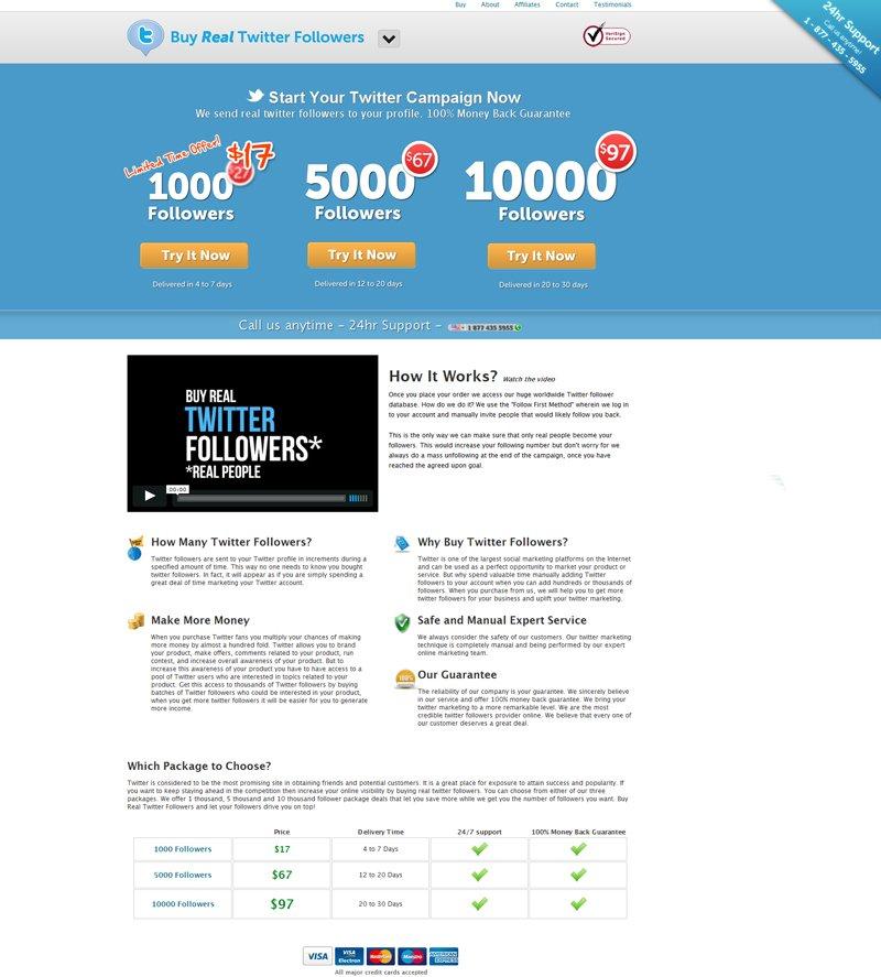 variation for the website
