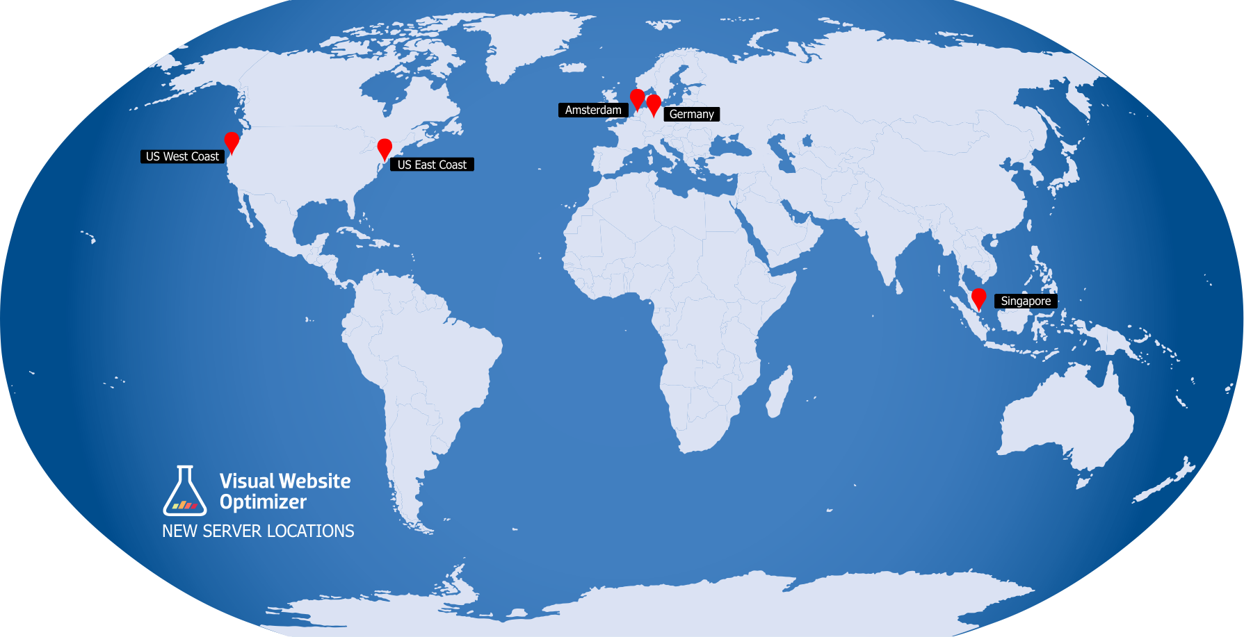 Visual Website Optimizer server locations