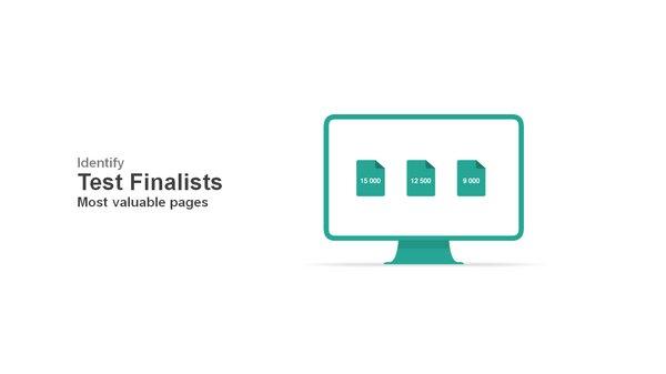 Identify test finalists