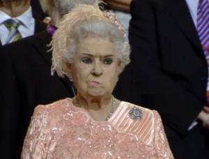 Annoyed Queen!