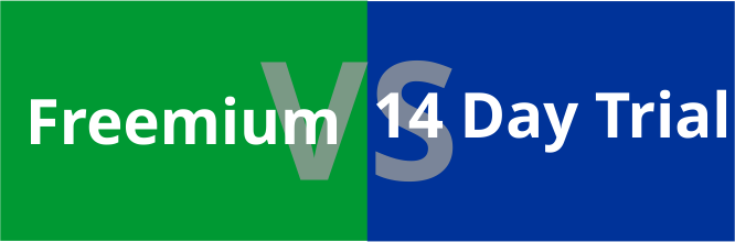 Freemium v/s 14-Day Trial