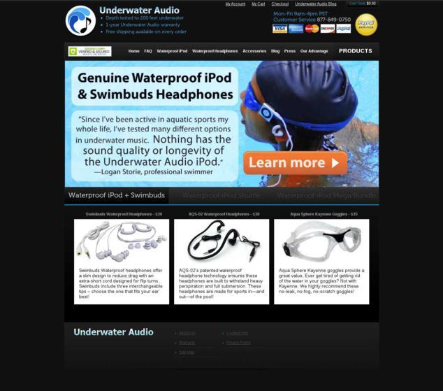 Underwater Audio Variation Page