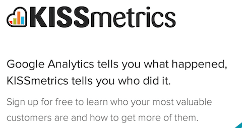 Kissmetrics's Value Proposition