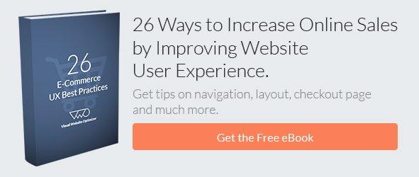 Increasing Sales by Improving Website UX (eBook) CTA