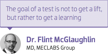 Dr. Flint McGlaughlin quote