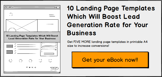 Landing Page Templates (eBook) CTA