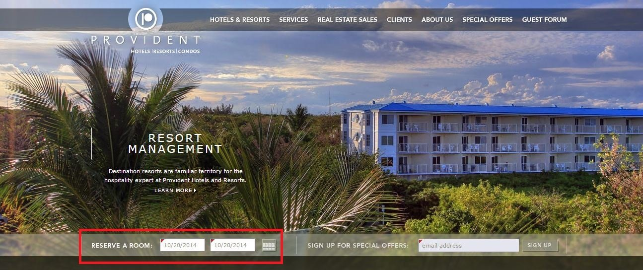 Provident Resorts Winning Variation Shot 1
