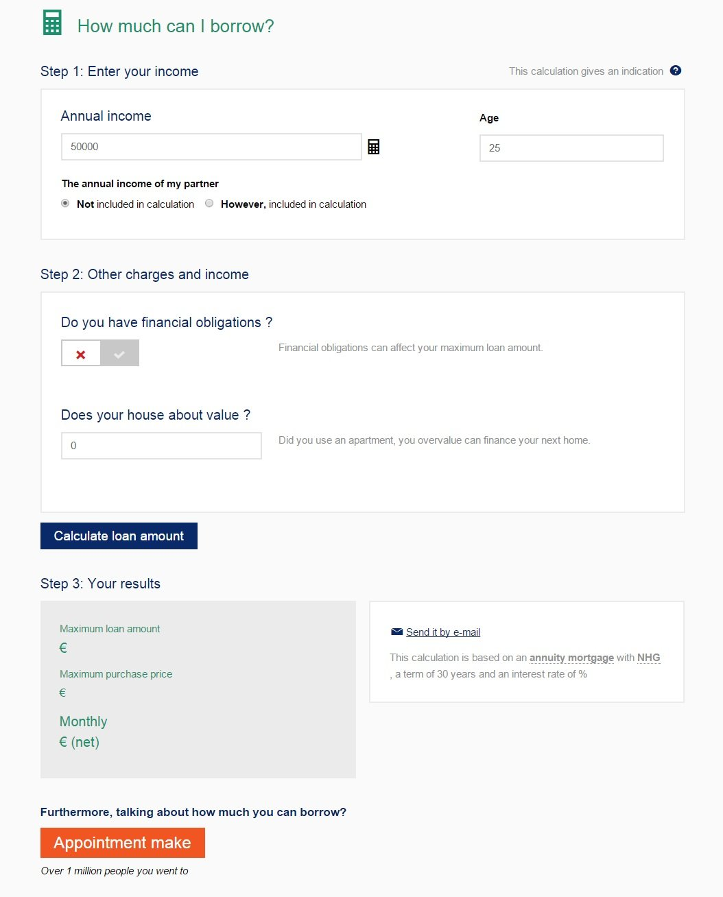 De Hypotheker Associatie - Variation for A/B test