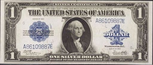 Dollar Certificate