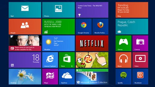 Windows 8 Flat design