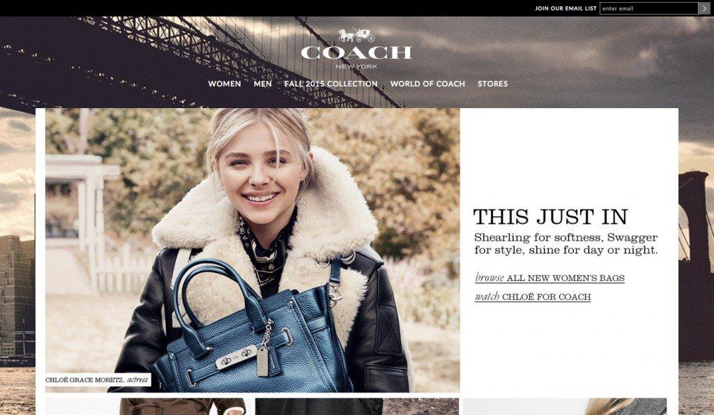 Coach Homepage