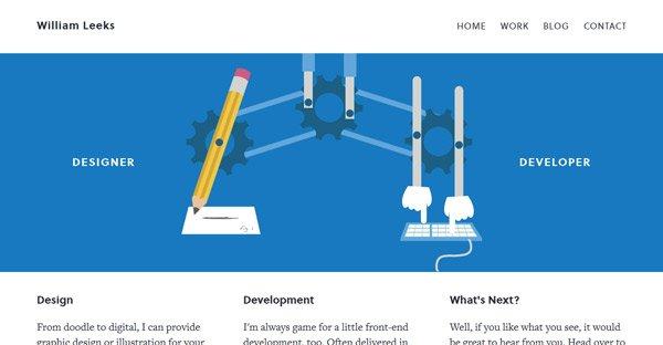 Leeks Webpage