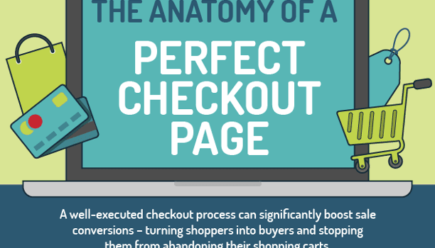 Perfect checkout page - infographic