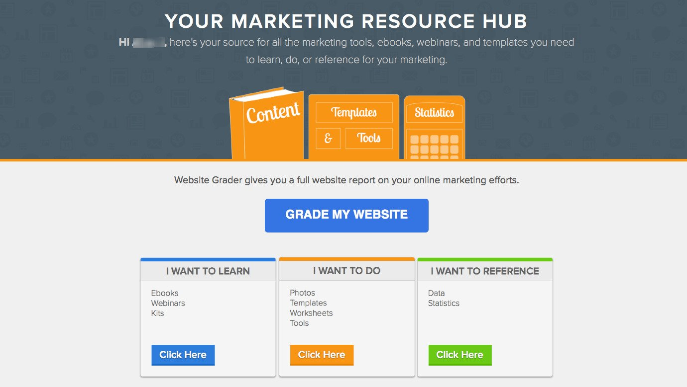 Hubspot's Free Marketing Resources