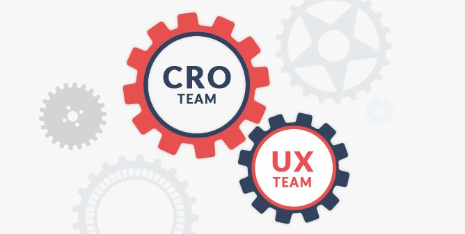 CRO and UX team working together (image)