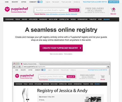 Removing navigation bar from eCommerce landing page - Case Study