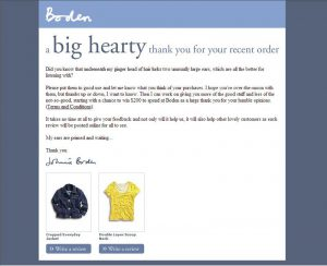 boden thank you email