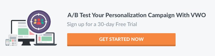 A/B test your personalization program