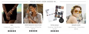 Personalization example Flash Tattoos