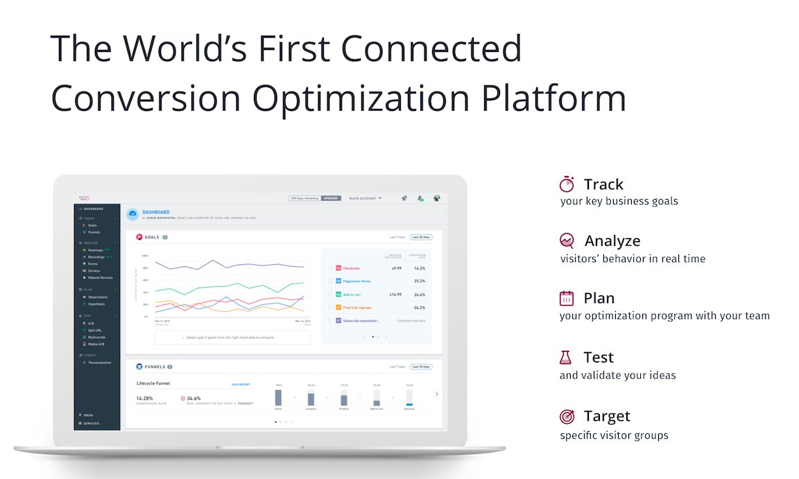 VWO - Connected Conversion Optimization Platform