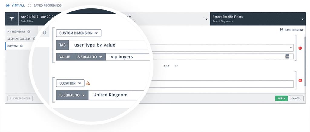 Ecommerce customer segments